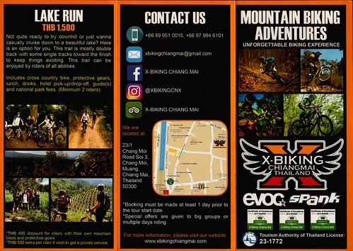 Brochure X-Biking Chiang Mai Thailand 1