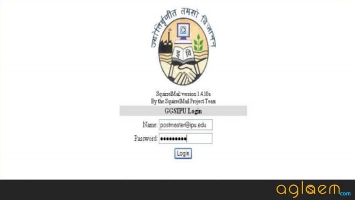 IPU CET 2019 B.Tech Login
