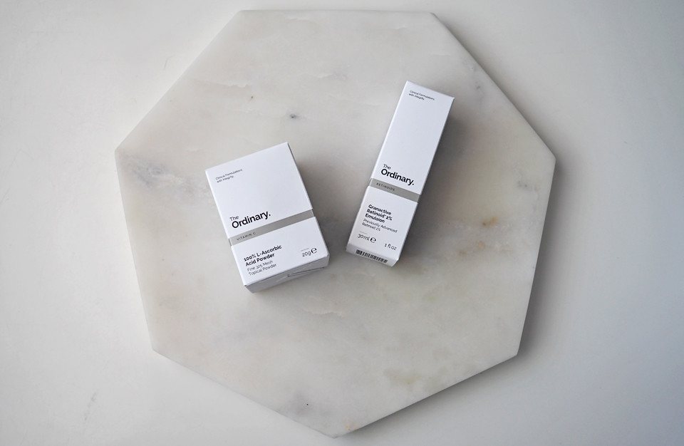 the ordinary l-ascorbic acid powder granactive retinoid