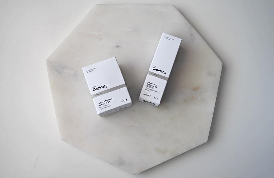 the ordinary l-ascorbic acid powder granactive retinoid
