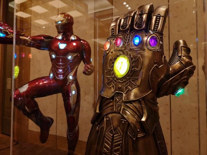 Thanos's Infinity Gauntlet.