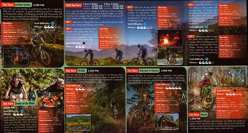 Brochure Trailhead - Day Tours Chiang Mai Thailand 2