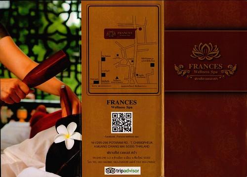 Brochure Frances Wellness Spa Chiang Mai Thailand 1