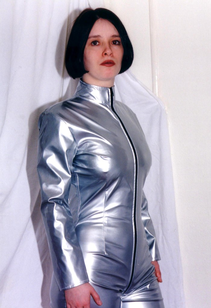 Silver Catsuit Retro 5 I Found These Images And