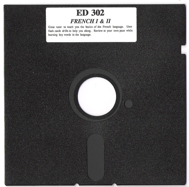 Dead Media Society 5 14 floppy disk  I will be a