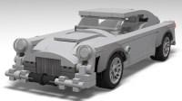 lego Aston Martin db5 (james bond) moc (V 2.0)