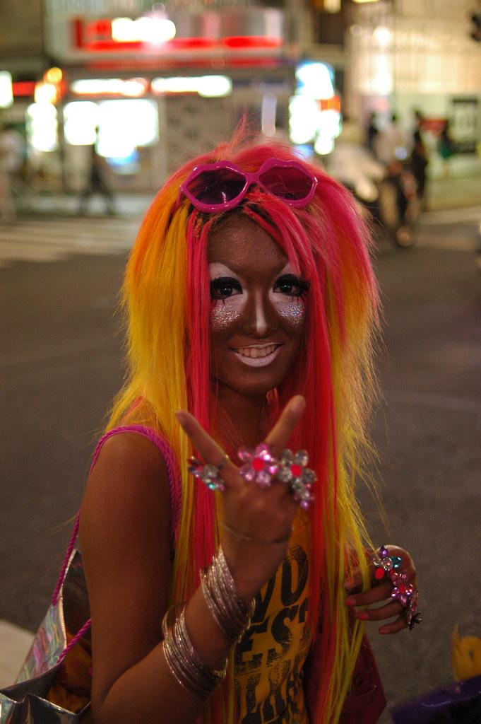 Shibuya Girl Stuart Byrne Flickr