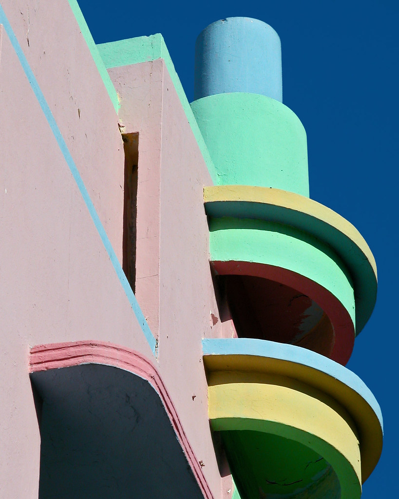 Art Deco Detail Miami  updated tonight after a contrast