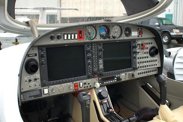 DA42 Cockpit  This is a shot of the DA42s cockpit I