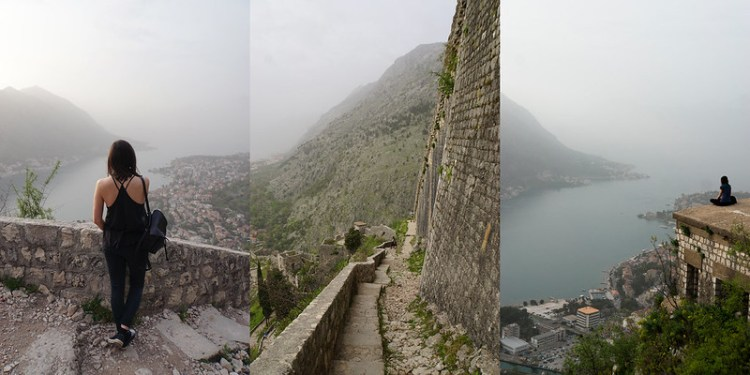 Kotor city wall walk up the mountains to St John's Fortress | Kotor old town | Kotor Bay | Montenegro | My gluten free experience in MONTENEGRO