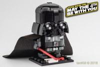 Darth Vader BrickHeadz is a larger-than-life character ...