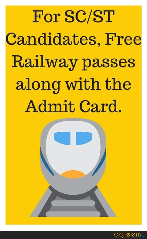 RRB Group D Admit Card by Bhopal