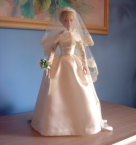 Franklin Mint Princess Grace doll in her bridal gown  Flickr