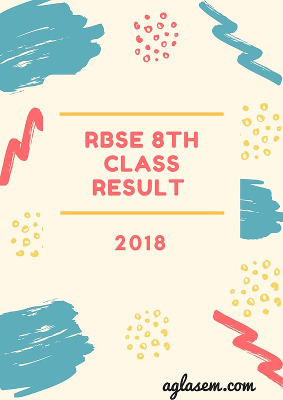Rajasthan Board 8th Class Result 2018
