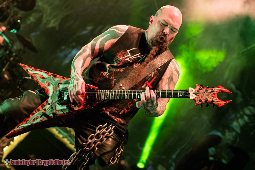 Kerry King of Slayer performing at the Pacific Coliseum in Vancouver, BC on May 17th, 2018