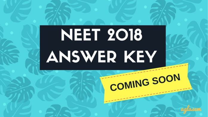 NEET 2018 Answer Key Code OO with Paper and Solutions