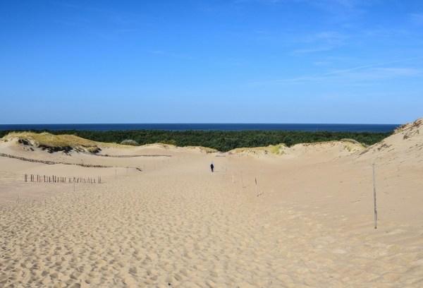 Extraordinary Hike Giant Sand Dunes Of Lithuania