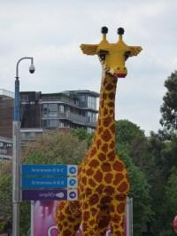 Lego Giraffe at Legoland Discovery Centre Birmingham at Ar ...
