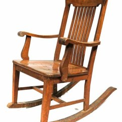 1920s Rocking Chair Royal Oak Dining Chairs Narra H 40 X L 24 1 Flickr By Leo Cloma