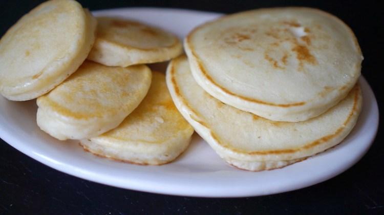Plain gluten free American pancakes | How to make light and fluffy gluten free pancakes | Gluten free breakfast basics | Gluten free recipes