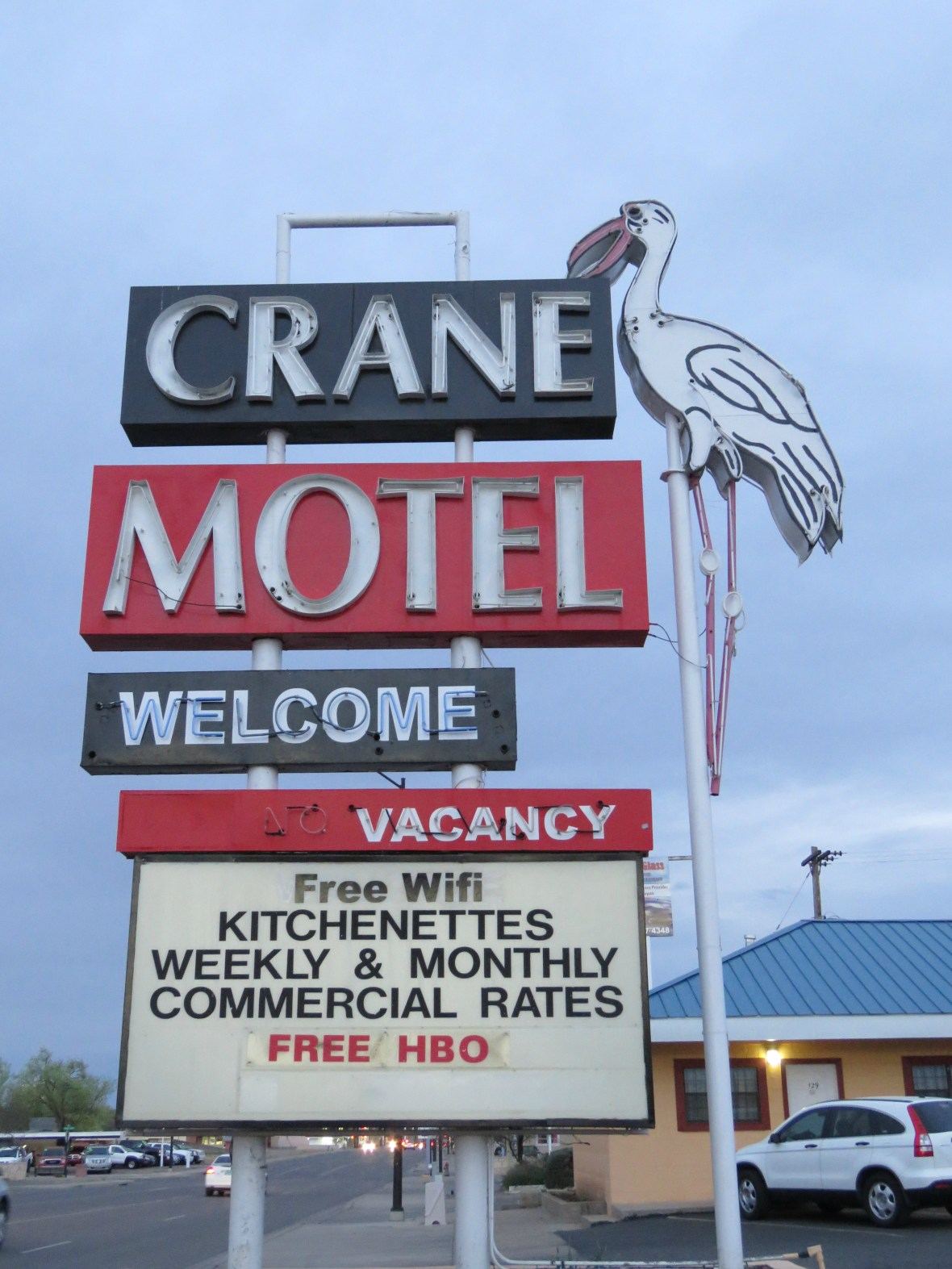 Crane Motel - 1212 West 2nd Street, Roswell, New Mexico U.S.A. - March 7, 2016