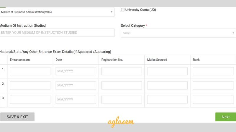 REVA MAT 2019 Registration (Started)- Application Form