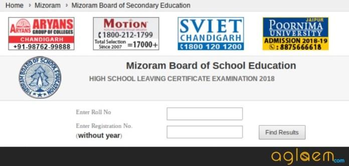 Mizoram Class 10 Result