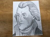 Thomas Jefferson Slave Holder   My TA asked that I draw ...