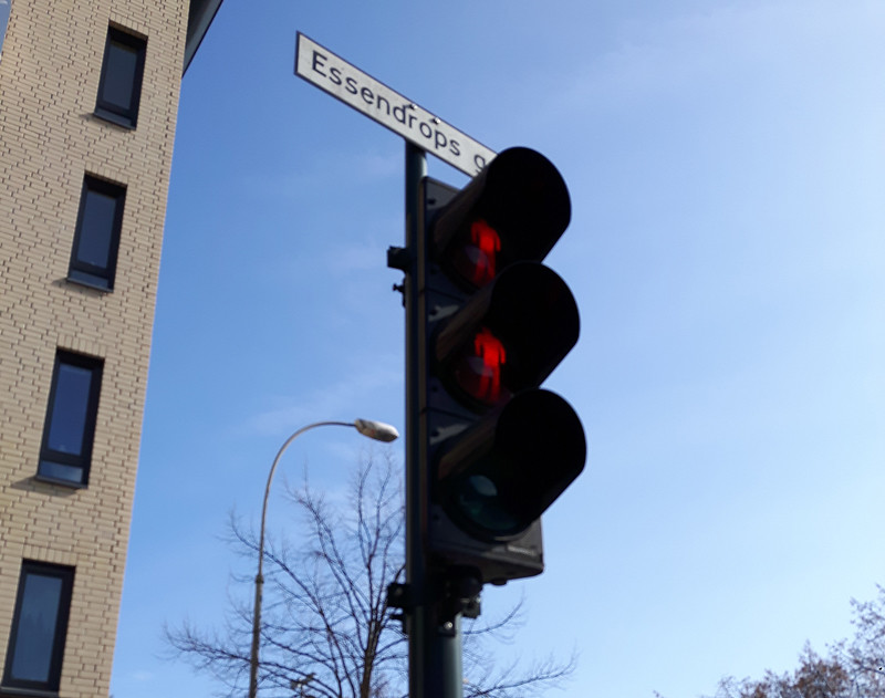 oslo traffic light