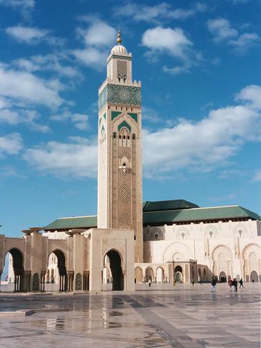 La grande mosque dHassan II  Casablanca Maroc  Flickr