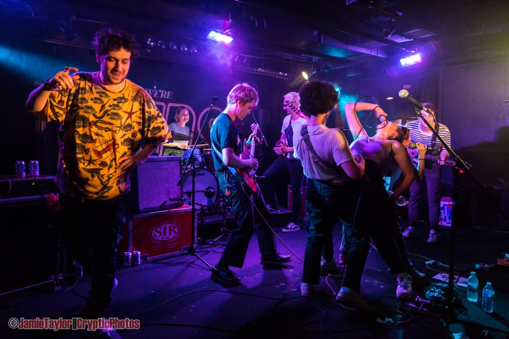 Hinds and Goodbye Honolulu performing together at The Biltmore Cabaret in Vancouver, Bc on May 21st. 2018