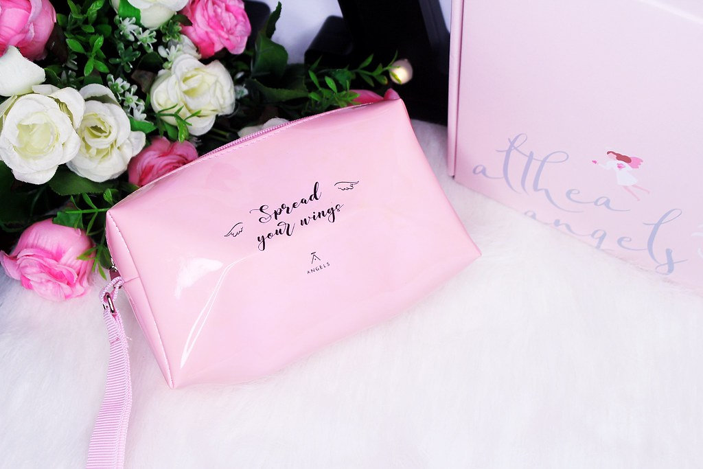 Pink Althea Angel mini bag