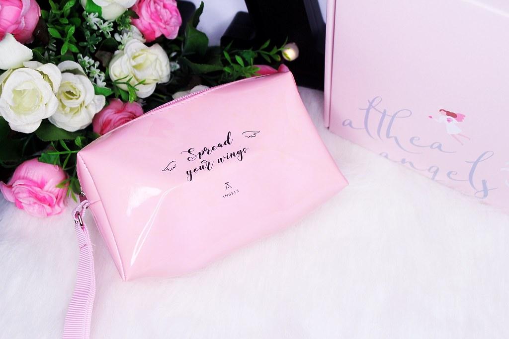 Pink Althea Angel mini bag