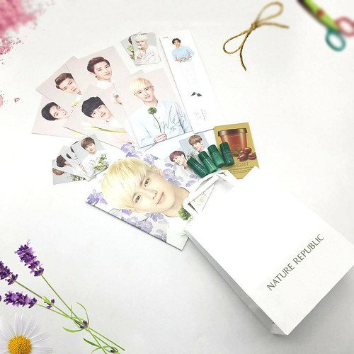 Nature Republic set of sample freebies