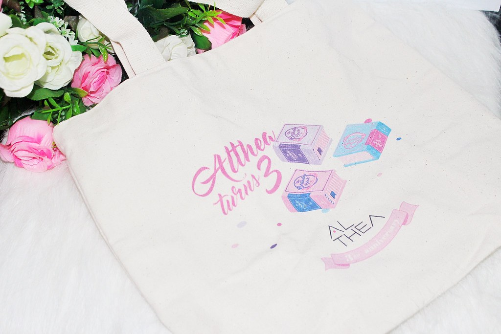PremiumAlthea birthday tote bag