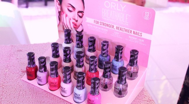 ORLY Breathable Nail Polishes at ORLY Grand Launch