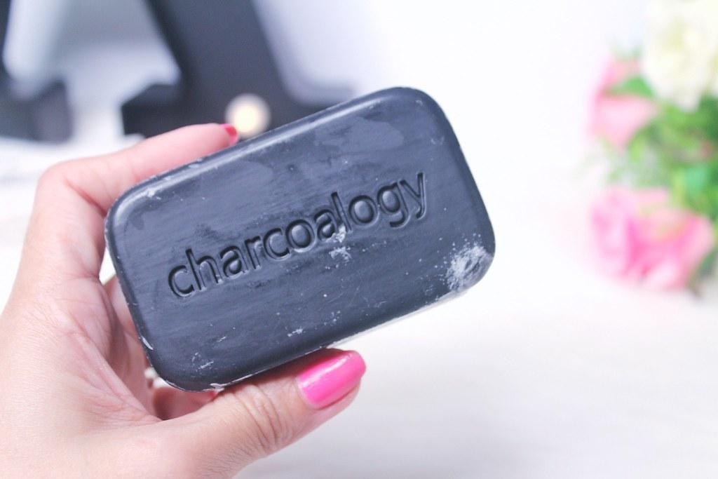 Charcoalogy Bamboo Charcoal Detoxifying Face and Body Bar Soap