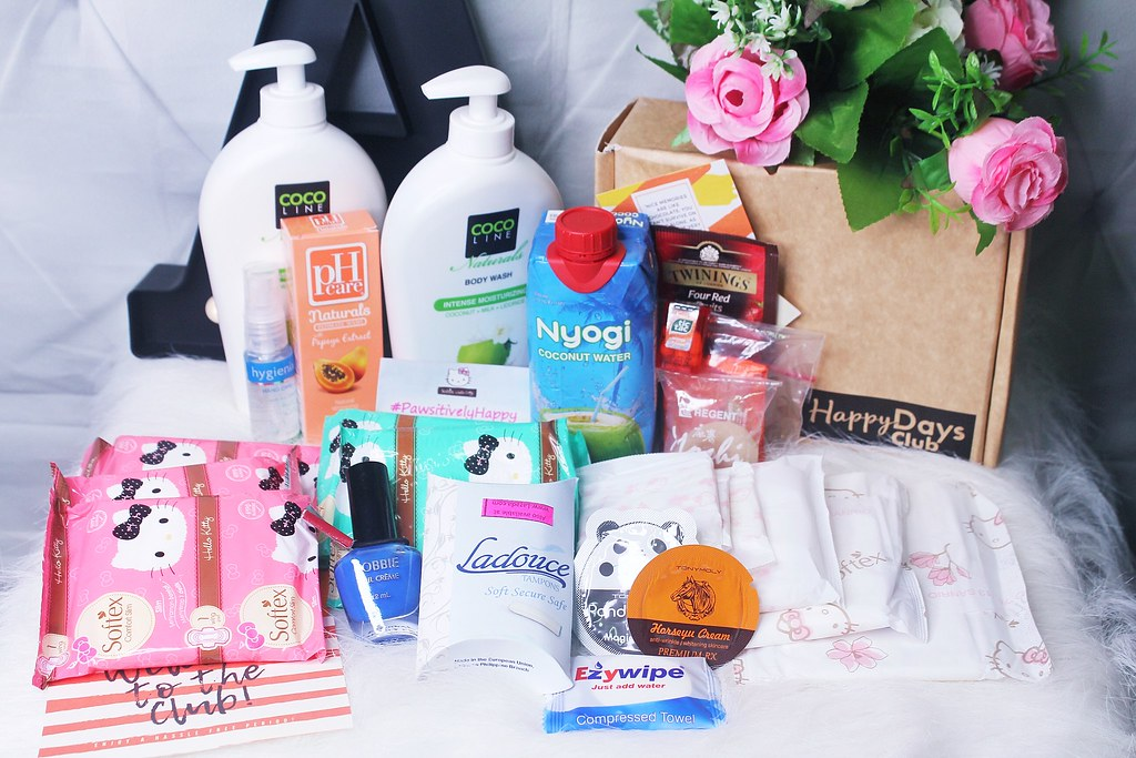 Happy Days Club Subscription Box for AUGUST