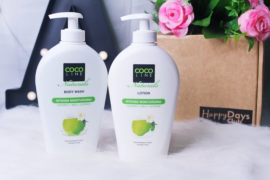 COCO LINE NATURALS LOTION & BODY WASH