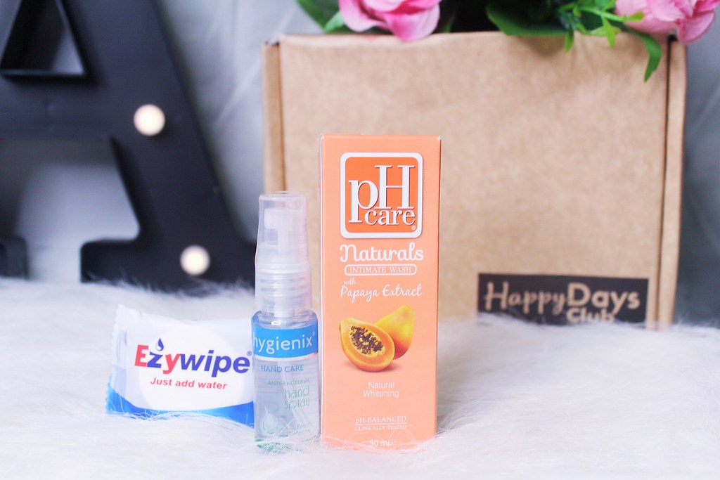 EZYWIPE, HYGIENIX HAND SPRAY, pH CARE PAPAYA EXTRACT