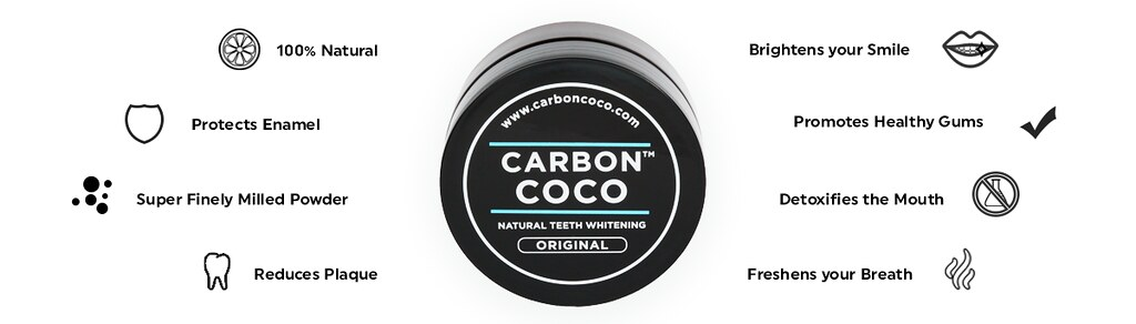 The Truth About Carbon Coco Charcoal Teeth Whitening
