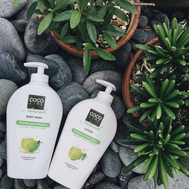 COCO Line Naturals Intense Moisturizing Body Wash & Lotion