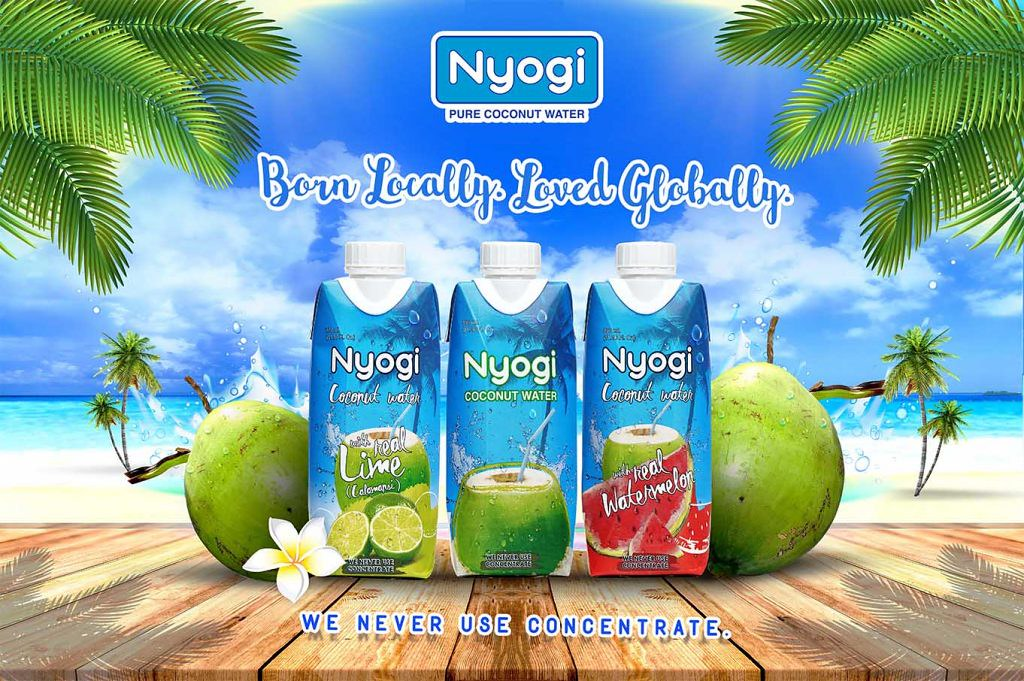 Nyogi Coconut Water - Homegrown Goodness in Every Sip