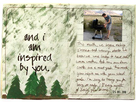 love letter page to my husband on recycled paper   I write a…   Flickr