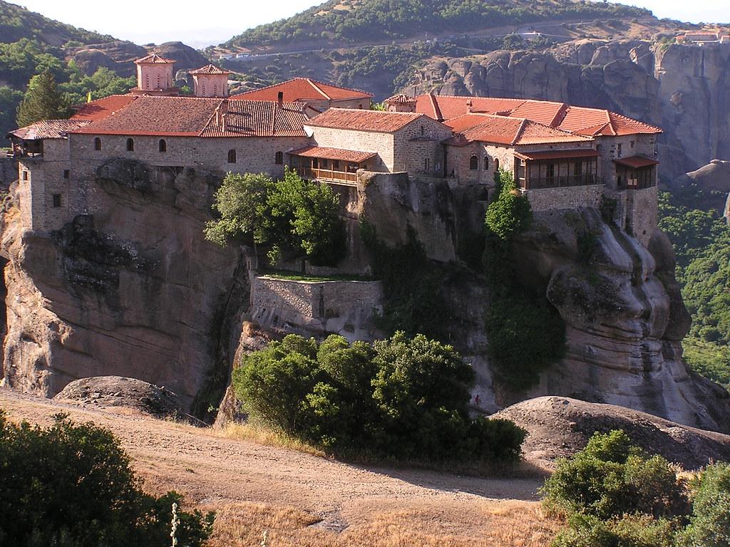 Grecia Meteora Gran Meteoro Monasterio de la Metamorfosis o de la Transfiguración de Cristo 14
