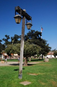 Lamp Post in Town Square | Old Town San Diego, California ...