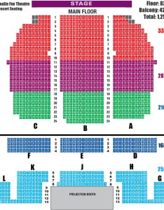 Seating chart by visalia fox theatre also flickr rh