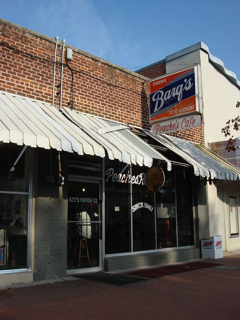 Peaches Cafe, Farish Street, Jackson MS