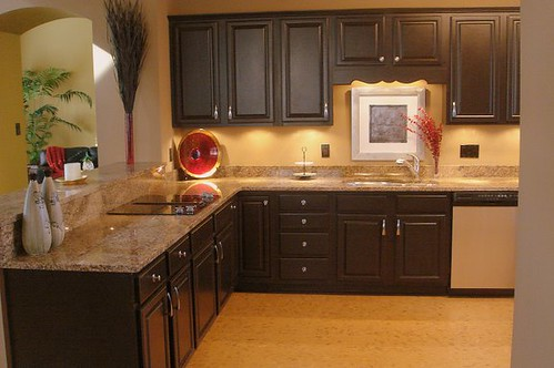 Kitchen Makeover With Black Cabinets This Is An After
