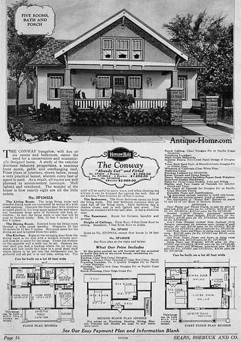 Sears Conway Kit Home  Sears Modern Home  The Conway